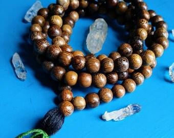 108 Mala, Mala Beads, Prayer Beads, Meditation, Necklace, Yoga, Jewelry, Handmade, Tassel