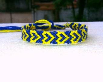 Handmade Heart Friendship Bracelet/ Wristband