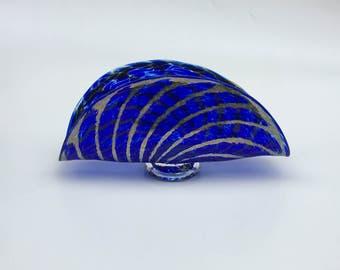 AquaticSilver Sea Fan, Cobalt,