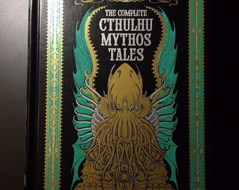 he Complete Cthulhu Mythos Tales, Lovecraft, Leather Bound, Collectible Edition