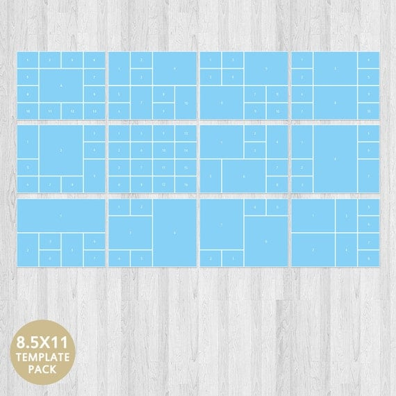 Psd Photo Template Storyboard Template Photo Collage