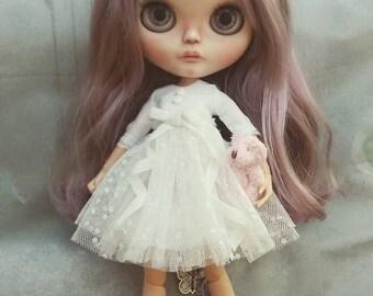 White summer dress for Blythe