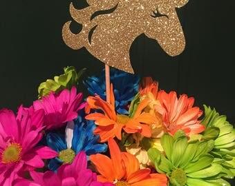 Unicorn Centerpieces, Unicorn Party Decor, Unicorn Head Centerpiece, Unicorn Table decorations, Unicorn Birthday Party (Set of 3)