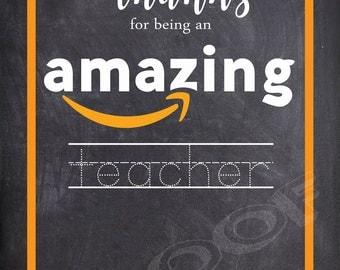 Amazon Gift Card Holder- Teacher