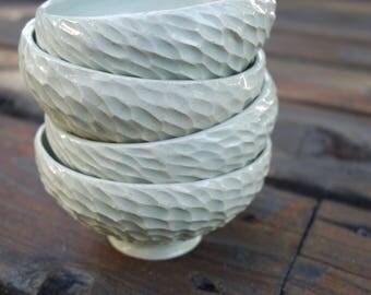 Set of 4 Small Bowls | Ice Cream Bowls |