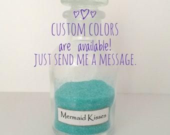 Mermaid Decor, Mermaid Nursery, Mermaid Stocking Stuffer, Mermaid Lover Gift, Mermaid Kisses, Turquoise Beach Decor, Mermaid Theme