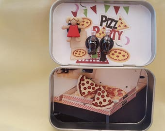 Altoids tin, Pocket Toy, Pizza Party