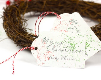 Personalized Christmas Gift Tags, Christmas Tags Personalized, Personalized Gift Tags Christmas, Personalized Christmas Tags, Holiday Tags