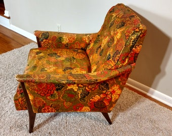 Mid Century Kroehler Arm Chair