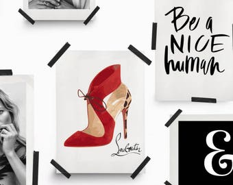 christian louboutin marketing mix