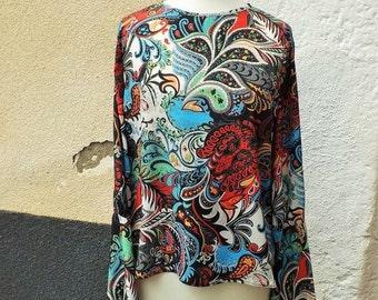 Bustier Bohemia Sanlivine pagoda sleeves blouse