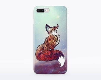 Fox Case Animal iPhone 6 Case iPhone 7 Case Hard Case iPhone 6 Plus Case iPhone 7 Plus Case Galaxy S7 Case iPhone 7 Case Protective CM25