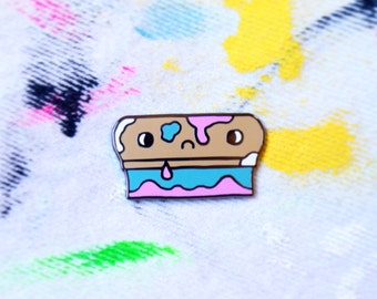 Dirty SQUEEGEE Screen Printing Pin! LIMITED EDITION!