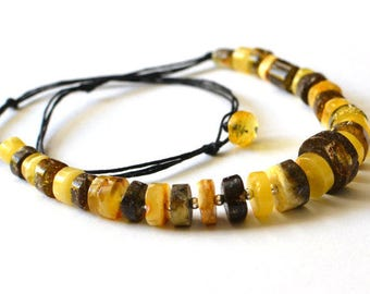 Natural Amber Necklace, Amber Jewelry, Amber Gift, Baltic Amber Necklace, Natural Jewelry