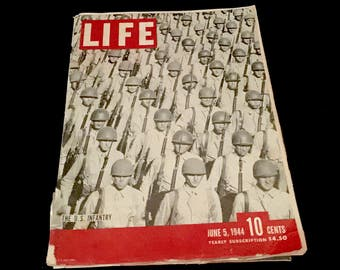 Women at War WWII: Life MagazineJune 5, 1944  GC2648