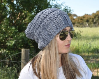 Womens hats, Blue Beanie hat, Handmade hats, Hipster beanie wool, Knit hat for woman wool hat, Womens beanies, Wool beanie hat, Wool beanie.