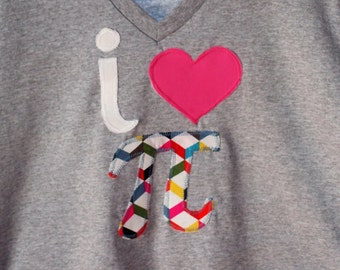 Pi Day~I Love Pi T-shirt~Math~Women's or Men's available