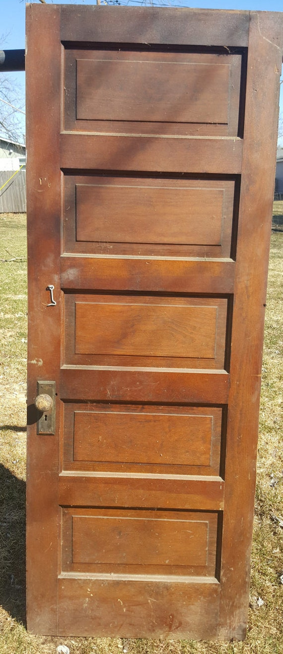 Old wood door antique interior door building supply for Vintage solid wood doors