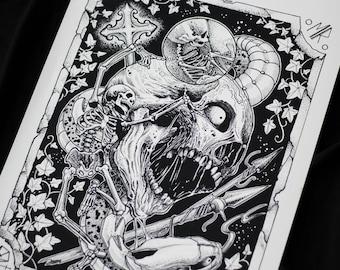 Tattoo Printtattoo Artart Printwall Art Printdark