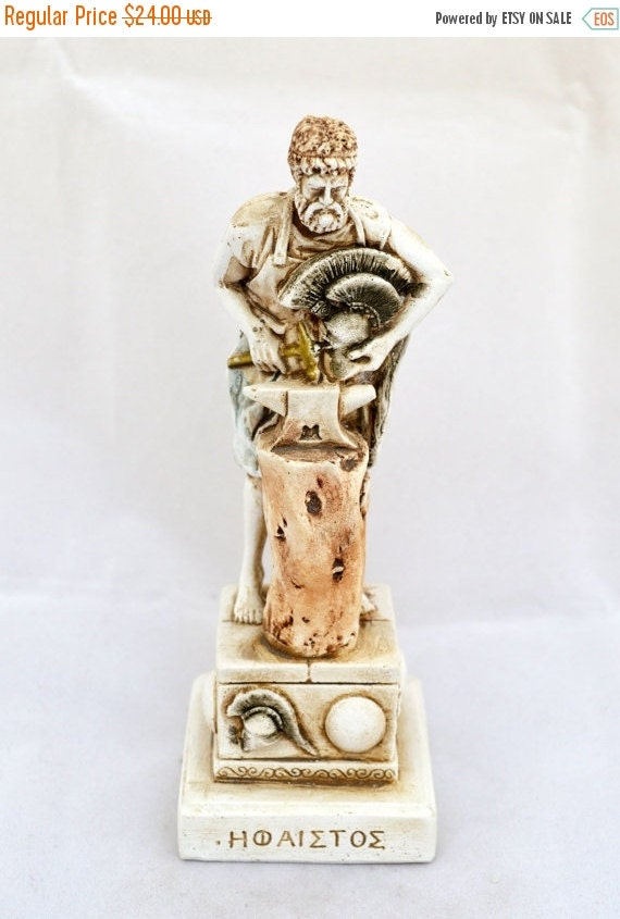 ON SALE Hephaestus Ancient Greek God of Smithing by ...