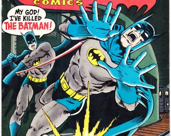 Batman in Detective Comics 467, Robin comic book, Hawkman, Marshall Rogers art. DC Comics from 1977 in FN/VF (7.0)