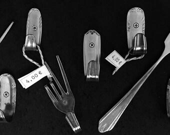 Uniquely designed fork - hook