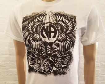 NA - A WAY OUT - Black T-shirt - S-5X  - 100% cotton