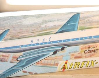 Airfix BOAC De Havilland Comet 4B Model Airplane Kit -- - 1/144 Scale -- Unassembled, Model, Plane, Airplane -- 1960/70's