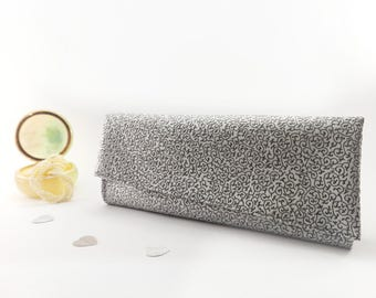 Metallic clutch bag Silver clutch purse Formal clutch Evening purse Posh clutch Small purse bags Party clutch Formal purse Evening clutches