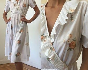 Sheer Romantic Flower Dress