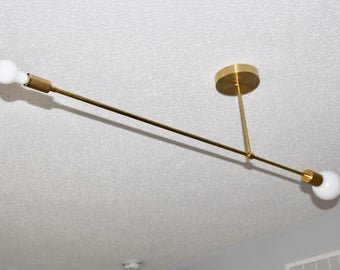Balance Brass Chandelier