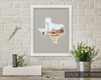 Texas Photo Map