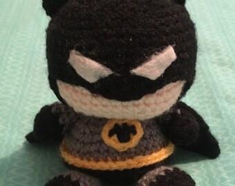 Crochet Batman - Ready to ship