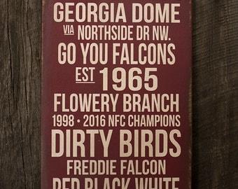 Atlanta Falcons Art Etsy