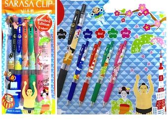 May 2017 Set: Zebra 0.5 Sarasa Limited Edition Pens