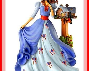 BUY 2 GET 1 FREE!Beautiful Lady in Blu 263 Cross Stitch Pattern Counted Cross Stitch Chart, Pdf Format/137220