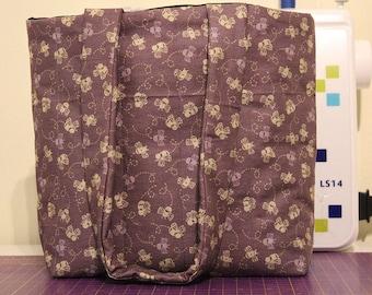 Purple Honeybee Bag