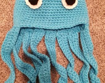 Octopus Infant Hat 0-6 Month