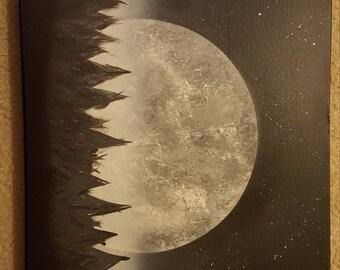 Black forrest moon