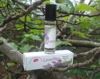 Are beautiful lavender essential oil roll on.