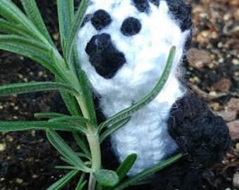 Tiny Crochet Panda