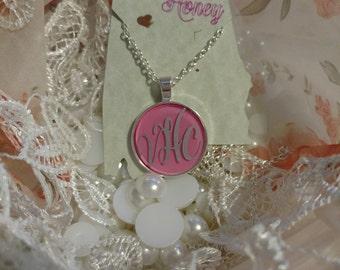 Monogrammed necklace