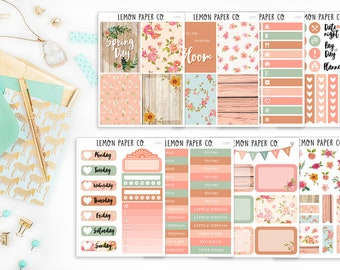 L001 Spring Day // Weekly Kit // Planner Stickers