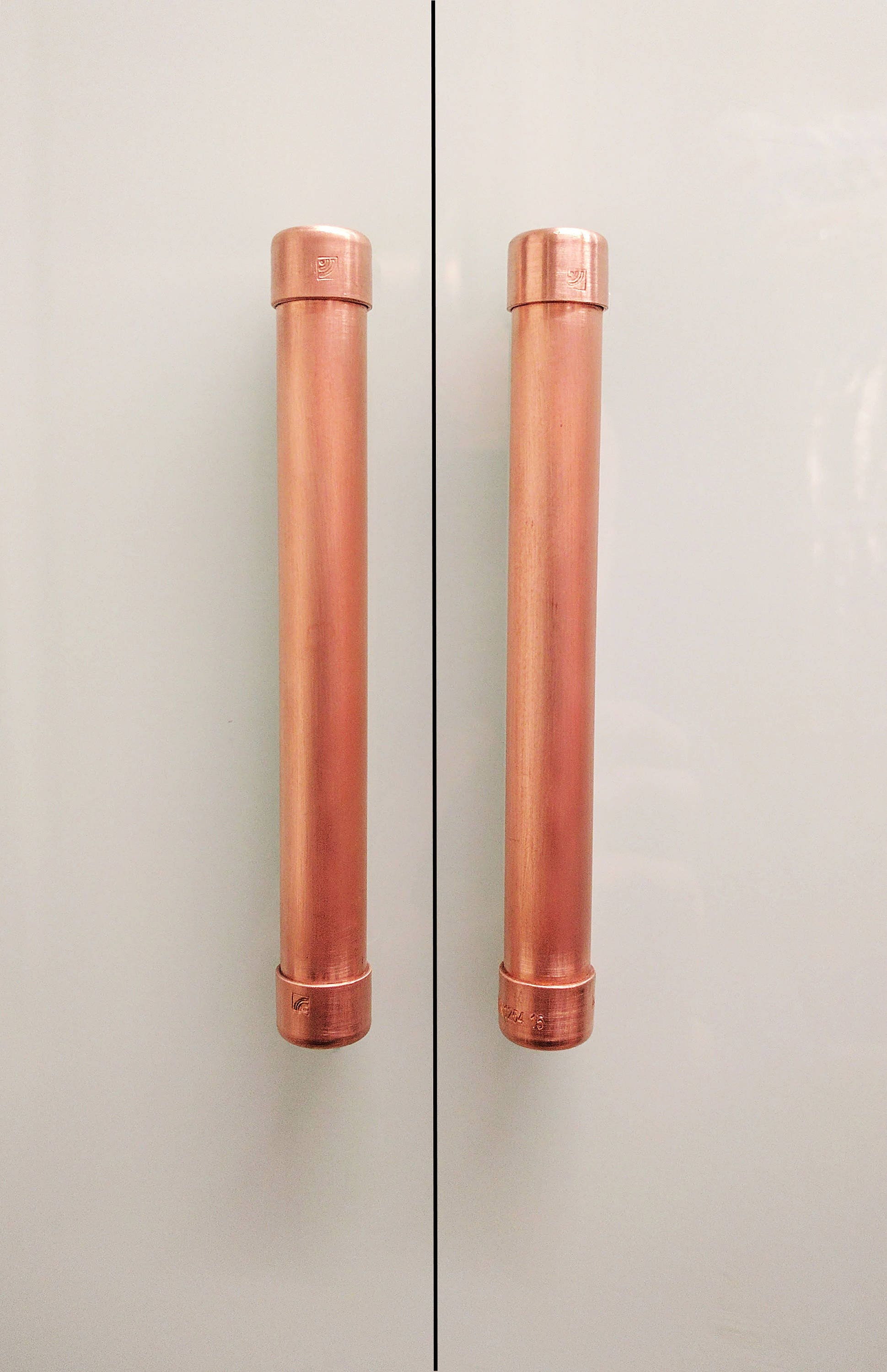 modern copper large bar pull handle cabinet hardware pull handle