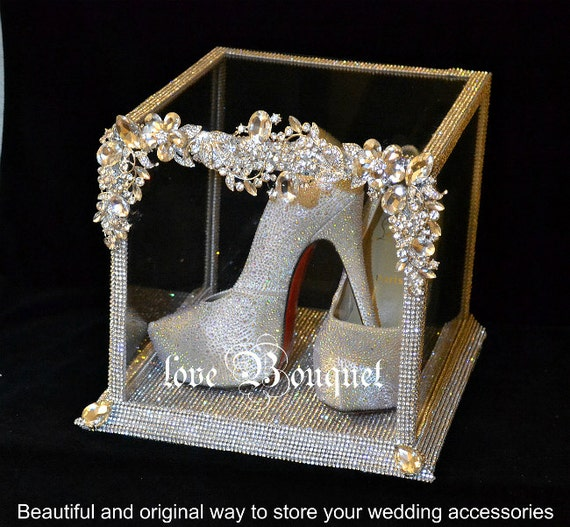 Silver Wedding Reception Gift Card Holder : Card holder Wedding decor Wedding accessories Wedding box Silver ...