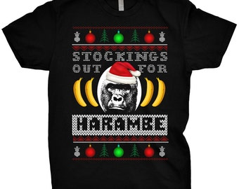 Stockings Out  Ugly Christmas Sweater T-Shirt Funny Xmas Shirt Meme Offensive Tee Tumblr Trending
