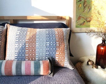 Handwoven Cotton/Linen Pillow Sham