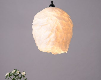 Pendant light Paper Lamp, Ceiling White Romantic Lampshade, Ceiling Hanging Light, Soft Light Fixture, pendant lighting, Lamp shades