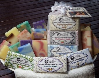 Soap Samples // Free Shipping // Guest Soaps // Travel Soaps