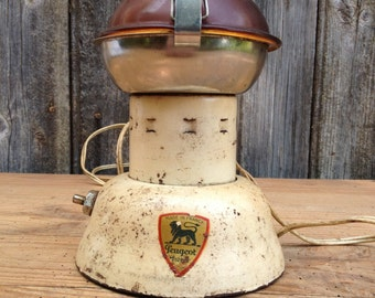 French Vintage Electric coffee grinder Peugeot 1950 804 D